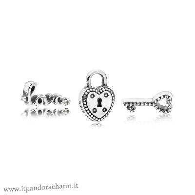 Pandora Originale Key To My Heart Petite Charm Pack